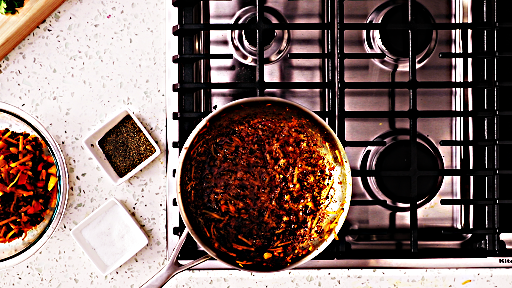 Photo made during Stove process