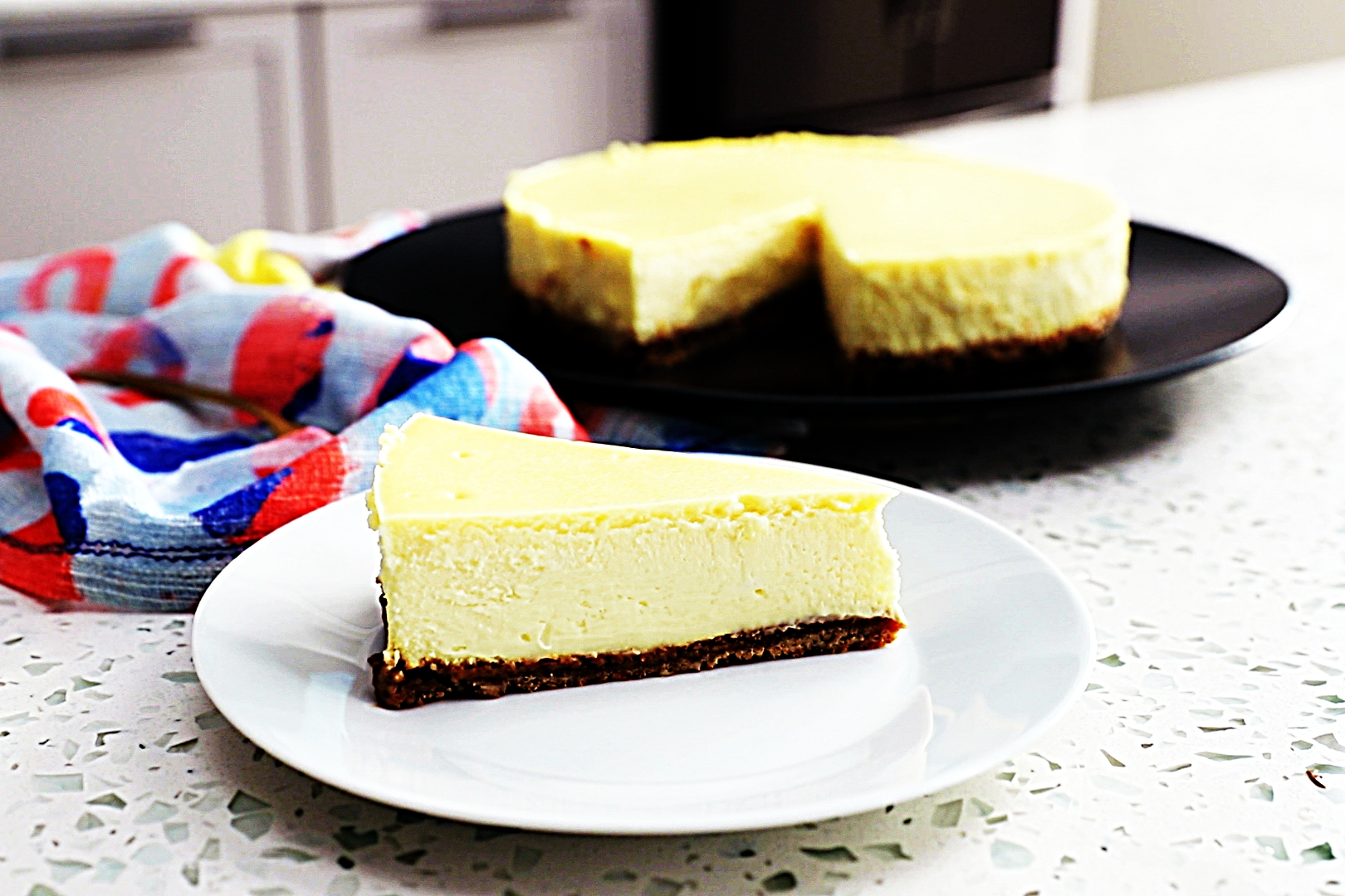 Stupid-Easy Recipe for Simple New York-Style Cheesecake (#1 Top-Rated)