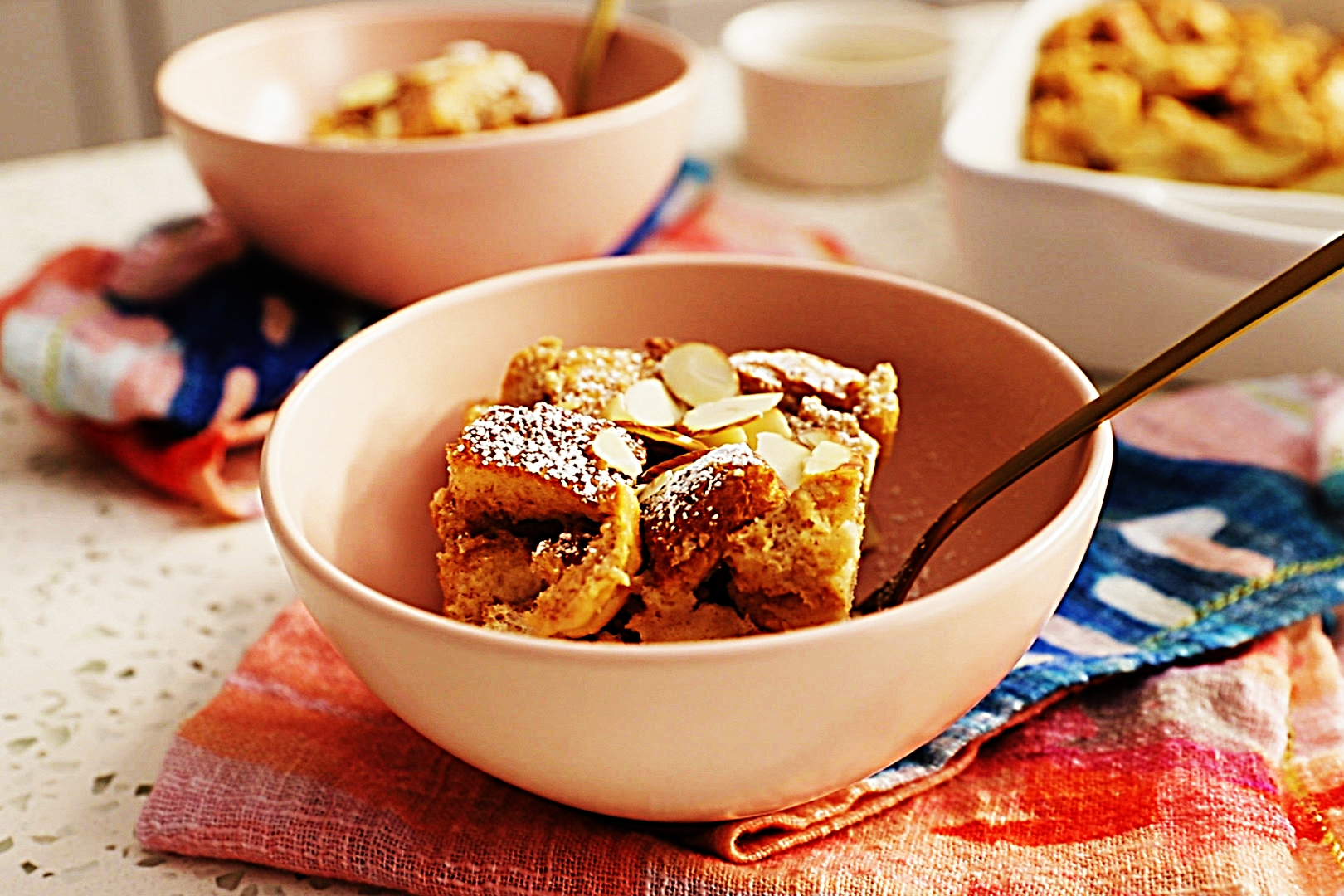 Stupid-Easy Recipe for Skinny Bread Pudding (#1 Top-Rated)