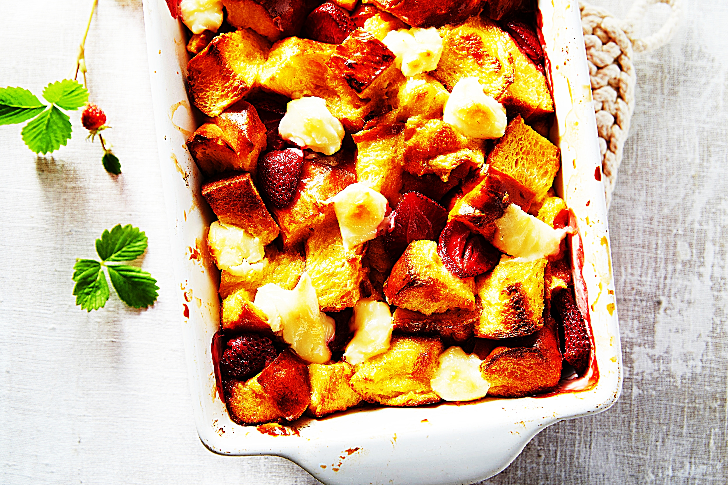 Stupid-Easy Recipe for Strawberry Cheesecake Baked French Toast Casserole (#1 Top-Rated)