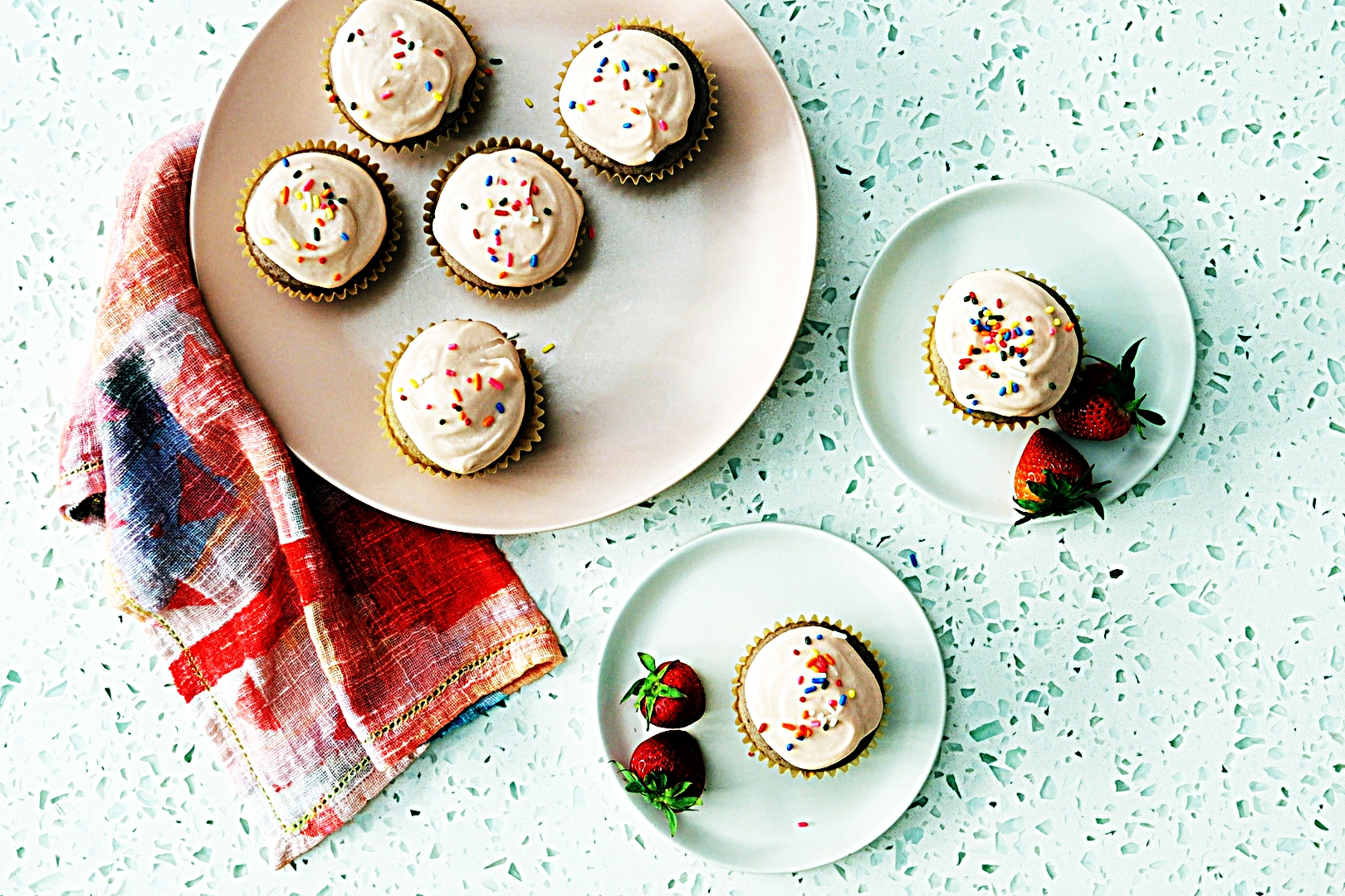 Stupid-Easy Recipe for Strawberry Cupcakes with Strawberry Buttercream (#1 Top-Rated)