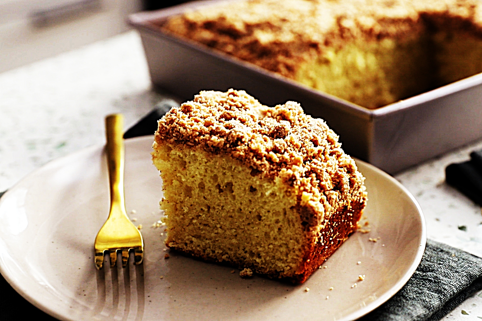 Stupid-Easy Recipe for Sugar-Free Coffee Cake (#1 Top-Rated)